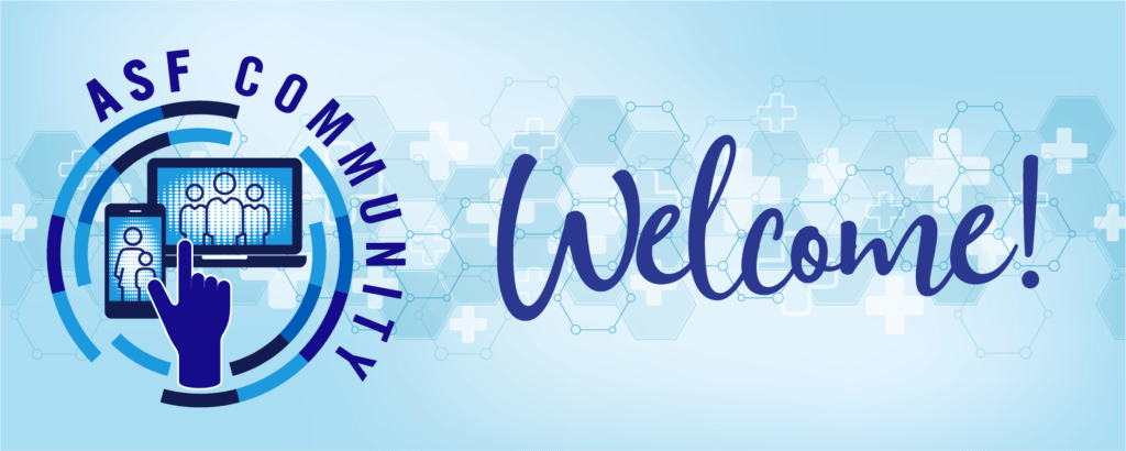 ASF Community Welcome Banner