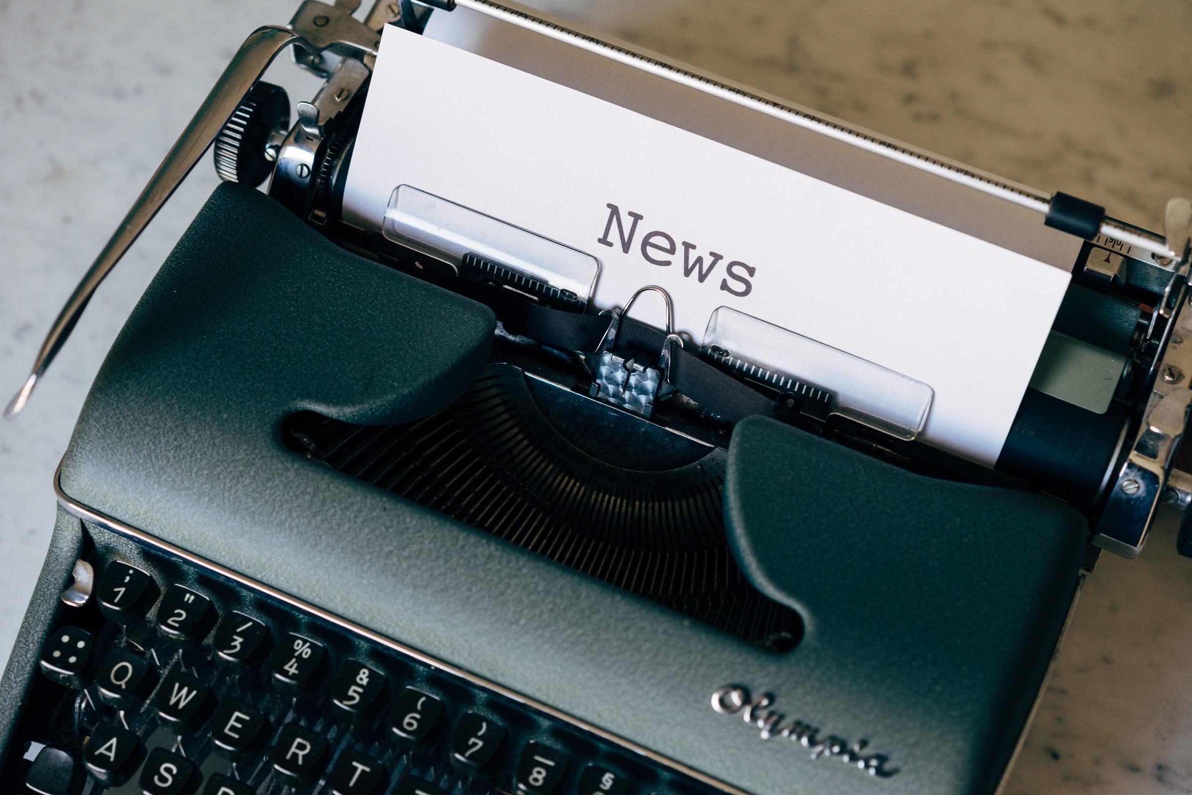 Unsplash Typewriter